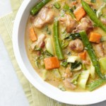 Green Chicken Curry for Two