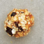 Chocolate Pretzel & Cherry Popcorn Balls