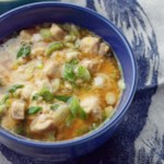 Japanese Chicken-Scallion Rice Bowl
