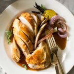 Roasted Chicken with Pan Gravy