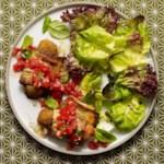 Eggplant & Mozzarella Stick Roll-Ups