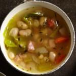 Classic White Bean & Ham Soup