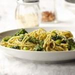 Spaghetti with Broccolini Pesto