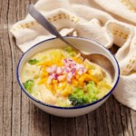 Broccoli-Cheddar-Chicken Chowder
