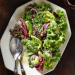 Simple Green Salad with Citronette