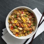 Chicken Quinoa Fried Rice