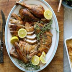 Lemon-&-Fennel-Rubbed Turkey with Homemade Giblet Gravy