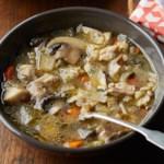 Chicken, Barley & Mushroom Soup