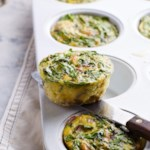 Muffin-Tin Quiches with Smoked Cheddar & Potato
