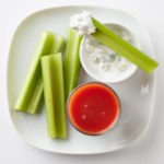 Celery & Blue Cheese Dip with Tomato Juice