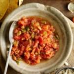 Roasted Three-Chile Salsa