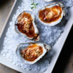 Broiled Oysters with Slow-Roasted Tomato Butter