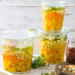 Grilled Corn & Carrot Giardiniera