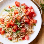 Two-Cheese Fusilli with Marinated Tomatoes