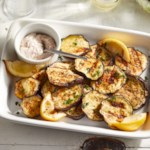 Grilled Eggplant with Sumac Aioli