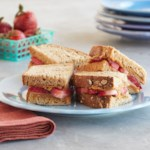 Strawberry-Almond Butter Sandwich