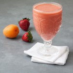 Apricot-Strawberry Smoothie