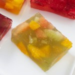 Lime & Orange Jello Jigglers