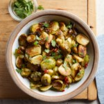 Roasted Brussels Sprouts with Fish Sauce Dressing