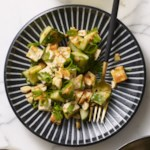 Tofu Cucumber Salad with Spicy Peanut Dressing