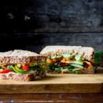 Veggie & Hummus Sandwich