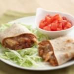 Bean and Chicken Burritos