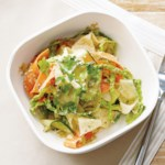 Cashew-Cilantro Pesto with Veggie Noodles