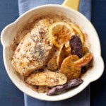 Lemon-Thyme Roasted Chicken with Fingerlings