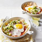 Avocado Egg Chilaquiles