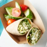 Chipotle Ranch Egg Salad Wraps