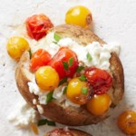Cottage Cheese and Roasted Tomato Topped Potato
