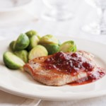 Cranberry Pork Loin Chops