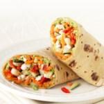 Crunch-Time Veggie Wrap