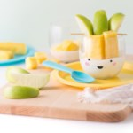 """Pine-Apple"" Fruit & Yogurt Cups"