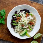 Bean & Veggie Taco Bowl