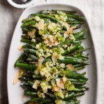 Blistered Green Beans with Coconut, Sesame & Scallion Oil