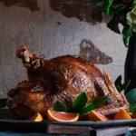 Berbere-Rubbed Roast Turkey with Orange Aioli