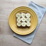 Sprouted-Grain Toast with Peanut Butter & Banana