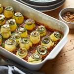 Zucchini Lasagna Rolls