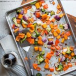 Colorful Roasted Sheet-Pan Veggies