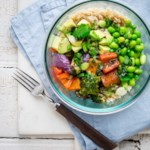 Edamame & Veggie Rice Bowl