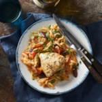 Slow-Cooker Mediterranean Chicken & Orzo