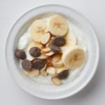Yogurt Banana Sundae