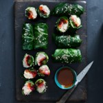 Chicken & Collard Green Spring Rolls