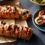 Hasselback Pizza Bread