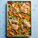 Sheet-Pan Chicken & Brussels Sprouts