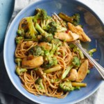 Stir-Fried Chicken & Broccoli with Mango Chutney