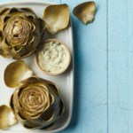 Steamed Artichokes with Herb Aioli