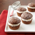 Orange-Spiced Mini Brownie-Cakes