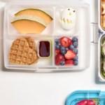 Egg & Waffle Bento Box